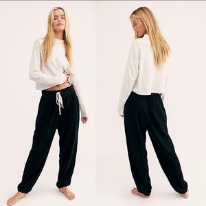 Free People Slouch Drawstring Joggers